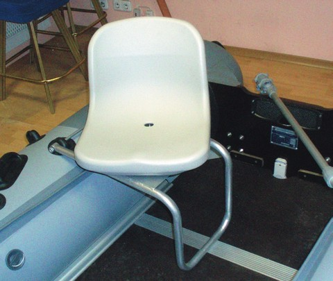 Кресло на пвх лодку своими руками